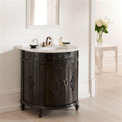 Antique Bathroom Vanity Units by Black Antique Style Vanity Unit