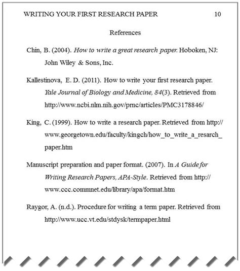 essay basics format a references page in apa style amazing