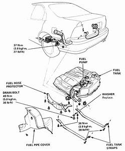On 1995 Honda Accord I Need To Replaces Fuel Pump Did I