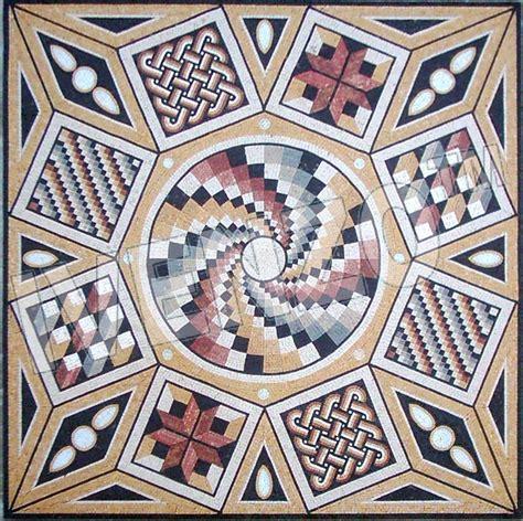 Mosaic Roman Pattern Ck023