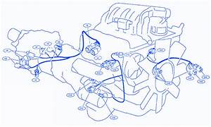 Nissan Wing Road 2002 Front Part Electrical Circuit Wiring