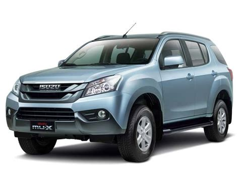 Isuzu Mu-x Suv Could Be On Its Way To India