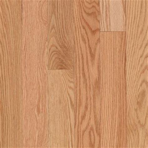 home depot oak flooring unfinished mohawk raymore red oak natural 3 4 in thick x 2 1 4 in wide x random length solid hardwood