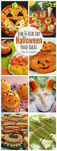 Lots of fun and healthy Halloween food ideas! Perfect for ...