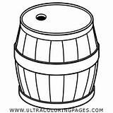 Barrel Coloring sketch template