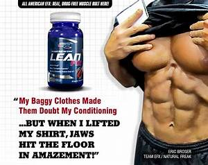 Lean  Ripped  Diced  Shredded  Peeled Whatever You Like To Call It  Efx U0026 39 S New Lean Fix Will