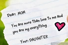 love  mom   quotes  daughter mother sayings