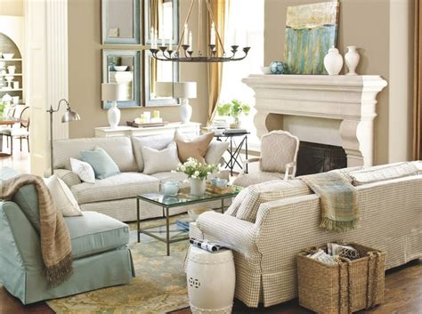 Blue And Tan Living Room Homes