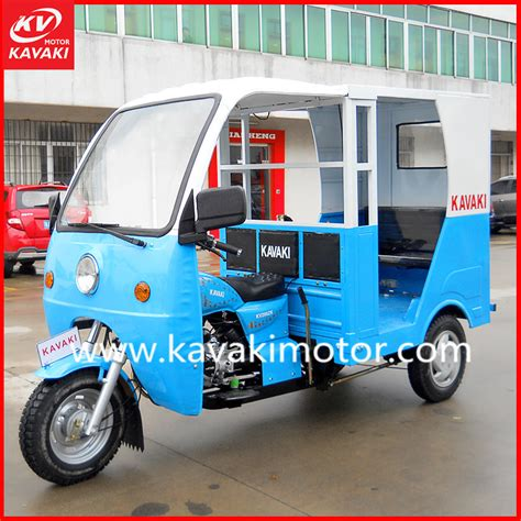 China Adult Three Wheel Scooter / India Auto Rickshaw For