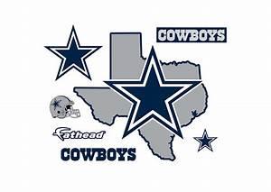Dallas Cowboys - State of Texas Wall Decal Shop Fathead