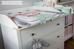 Hemnes Wickelaufsatz Ikea : ein skandinavisches kinderzimmer und ein wickelaufsatz f r die ikea hemnes kommode give away ~ Sanjose-hotels-ca.com Haus und Dekorationen