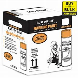 Shop Rust Oleum 15 oz Fluorescent Orange Flat Spray Paint