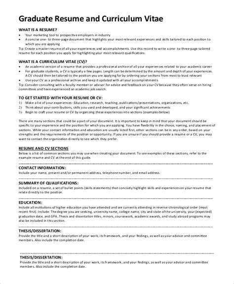 Graduate School Resume Template by Resume Sles Graduate School Act Writing Test The