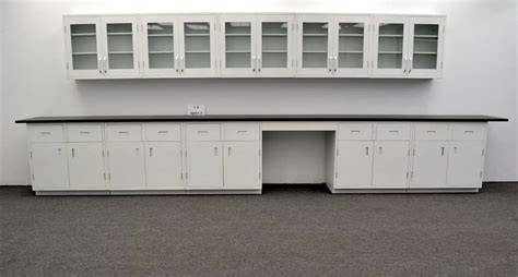 Lab Cupboards by 15 Wall 17 1 2 Base Laboratory Cabinets W Industrial