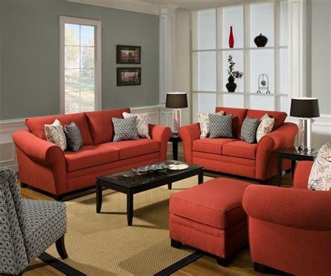 decoracion de salas de estar en color naranja