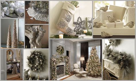 Frontgate Christmas Trees by Metro Luxe Events Candice Vallone Silver Christmas