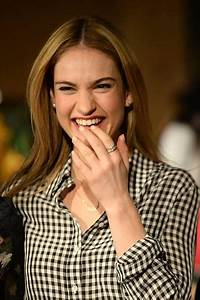 Hollywood Smile Lily James Movies List Height Age Family Net Worth