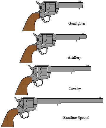 Colt Single Action Army by DaltTT on DeviantArt