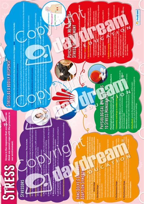 stress educational psychology poster