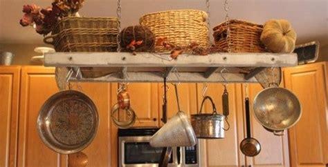 Hanging A Kitchen Pot Rack