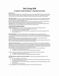 free printable living will template - free printable living will template