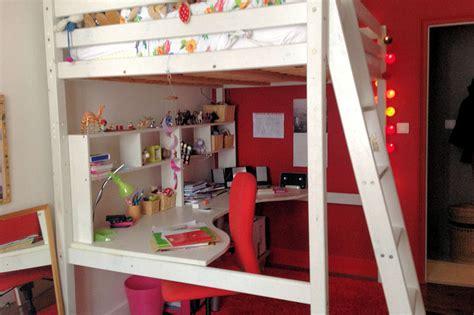 deco chambre mezzanine décoration chambre avec mezzanine