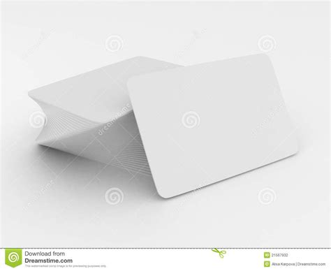 free blank business card stack of blank white business cards stock illustration image 21567932
