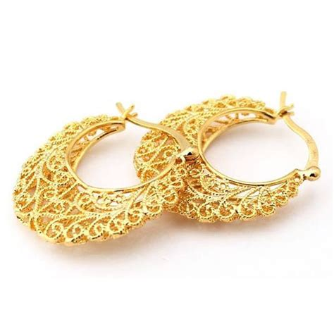 Secretshop24com  18k Real Gold Plated Excellent Craft