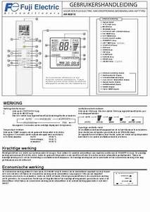 Fuji Electric Rsg09leca Air Conditioner Download Manual