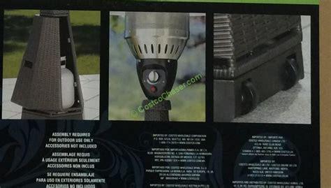 wicker patio heater costco hexagon patio heater resin wicker lp costcochaser