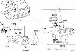 Toyota Rav4 Tail Light Socket  Rear