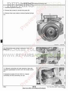 John Deere 16 18 20 24hp Onan Engine Ctm