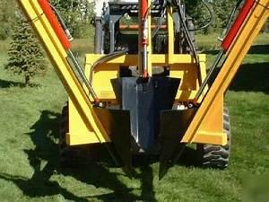 Bobcat Skidsteer    Tractor Mounted Tree Spade