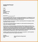 Grant Decline Letter Template 12 Proposal Letter Sample Grant Proposal Sample Grant Proposal Letter 9 Examples In Word PDF Sample Funding Request Letter