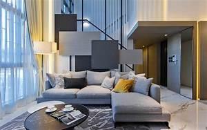 Download, Wallpapers, Hall, 4k, Stylish, Interior, Modern, Apartment, Sofa, Modern, Design, Interior