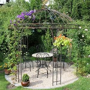 18 besten eisenpavillons gartenpavillon rosenpavillon With katzennetz balkon mit pavillon garden
