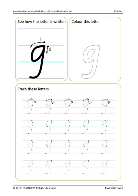 australian handwriting worksheets victorian modern cursive