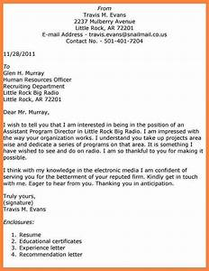 4 examples of a good application letter bussines With good cover letter for a job