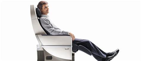 siege confortable classe premium economy confort air