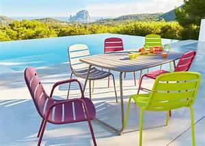 Table De Jardin Grise : carrefour les nouveaut s jardin marie claire ~ Dailycaller-alerts.com Idées de Décoration