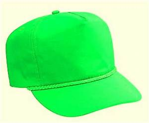 Neon Green Boardwalk Hat Cap par ScuzzyTrucker sur Etsy