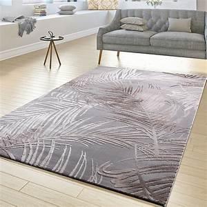 Teppich Grau Beige : moderner teppich wohnzimmer teppiche hoch tief struktur palmen design grau beige eur 33 00 ~ Indierocktalk.com Haus und Dekorationen
