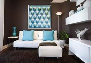 Redecor your home decor diy with best fabulous teal living for Modern decorating ideas for home