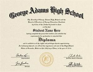 free fake high school diploma templates - us high school diploma style 2 buy diploma online