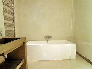 kit de beton cire haute resistance nuances minerales With enduit cire salle de bain
