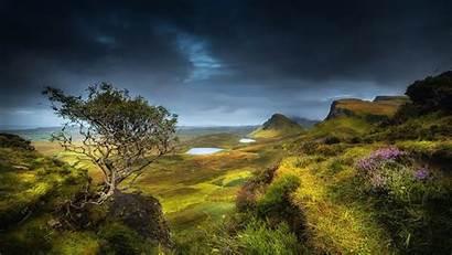 Scottish Scotland Desktop Flag Highland