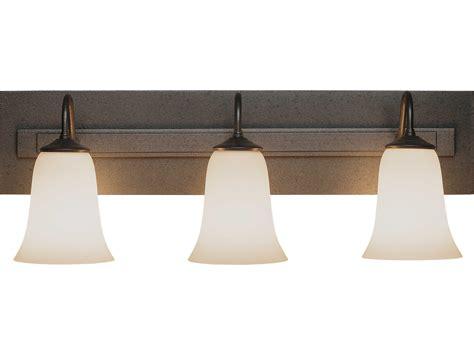 Hubbardton Forge Simple Three-light Incandescent Vanity