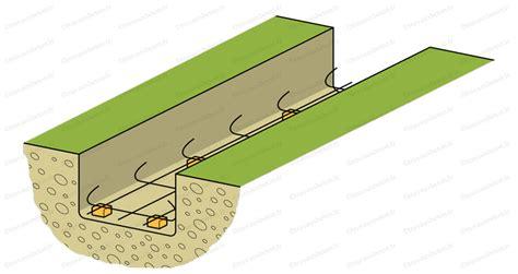 ferraillage fondation muret week end 25 fondation du muret de la terrasse la dalle piscine et