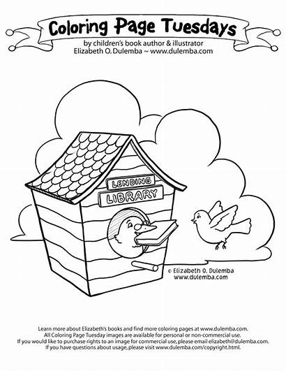 Library Coloring Pages Mask