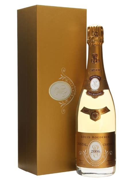 louis roederer cristal  champagne gift box